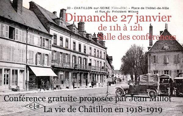 """""""Les Américains dans le Châtillonnais"""", une conférence de Jean Millot (Images en Châtillonnais)"""