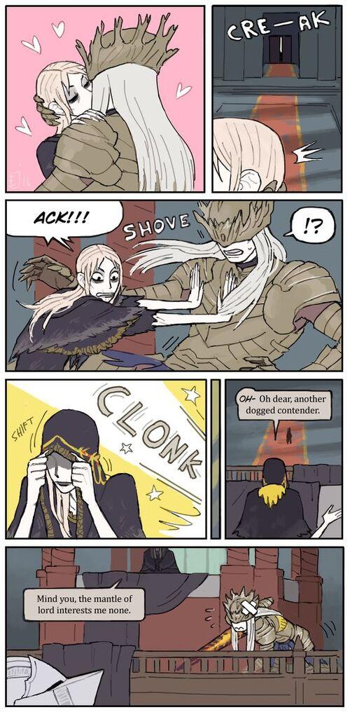 Bloodborne et Dark souls, c'est trop dark.