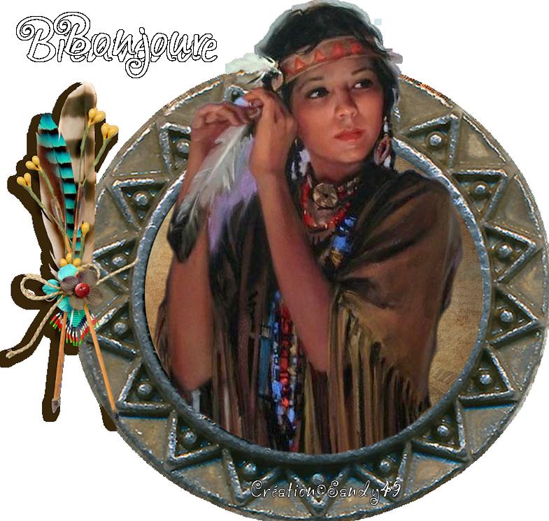 Mes créations Amérindiennes