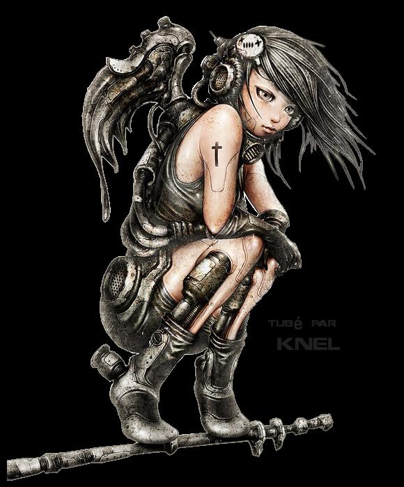 """L' Ange Steampunk"""