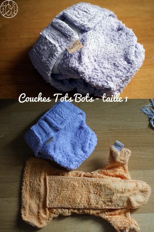 Les couches lavables (6) - Test comparatif des couches lavables + culottes de protections
