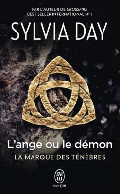 Couverture de La marque des ténèbres, Tome 1 : L'ange ou le démon