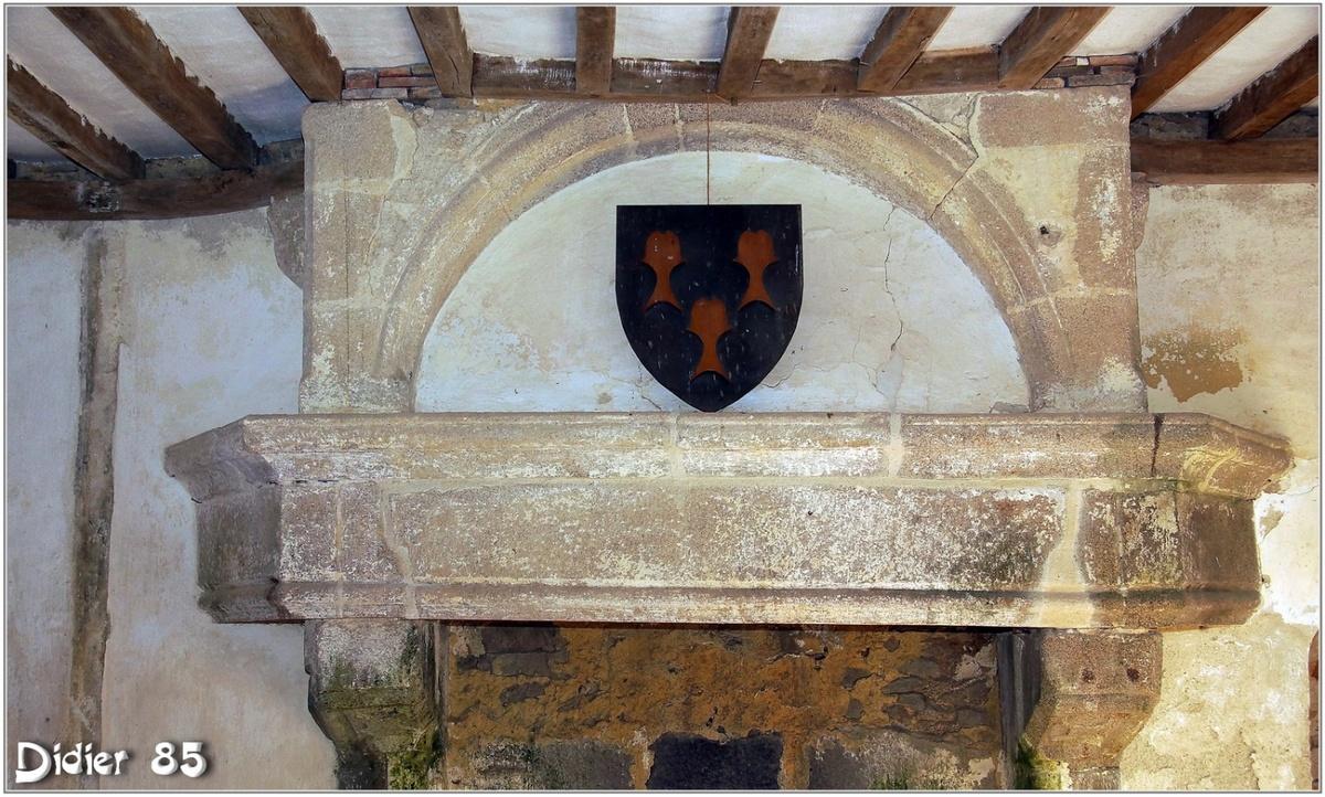 (85) Vendée - Saint Martin des Noyers (3) - Château de la Grève 3