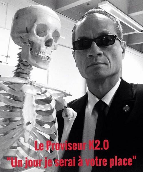"""Le Proviseur K2.0 """"Un jour je serai à votre place"""""""