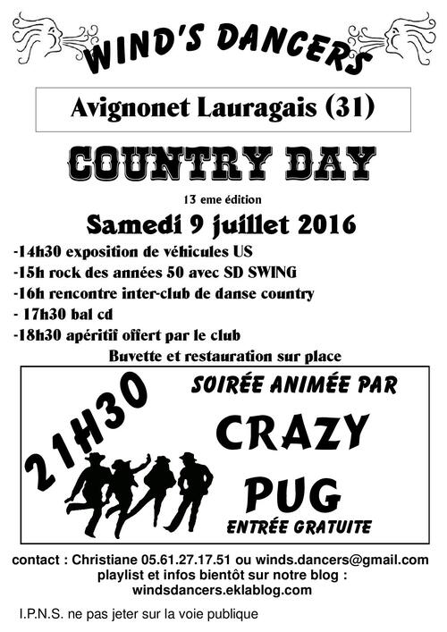 COUNTRY DAY 2016