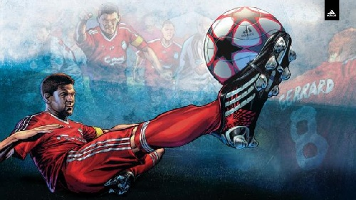adidas Football Comics : Kaka Le Virtuose