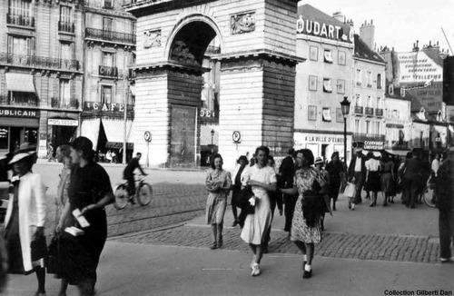 Quelques photos de Dijon , ville occupée