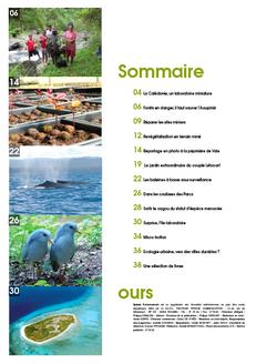 Juin 2011 Les Nouvelles Calédoniennes, suppl Environnement, 32p