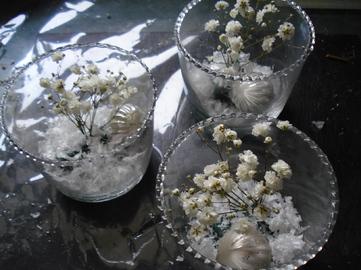 Pas à Pas : les petits pots de verre