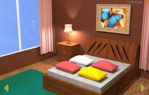Brown bedroom escape