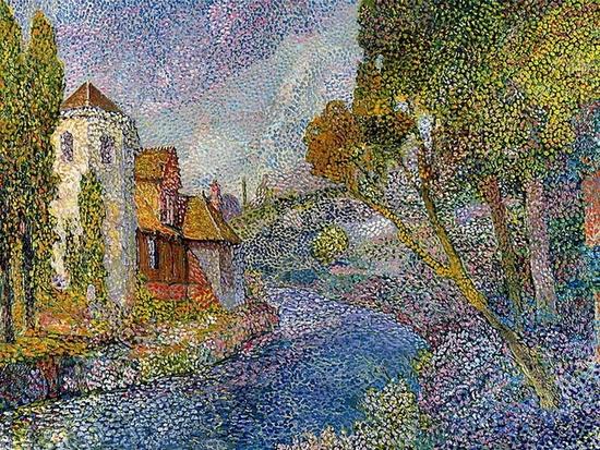 Léo Gausson, Maison sur le bord de la rivière