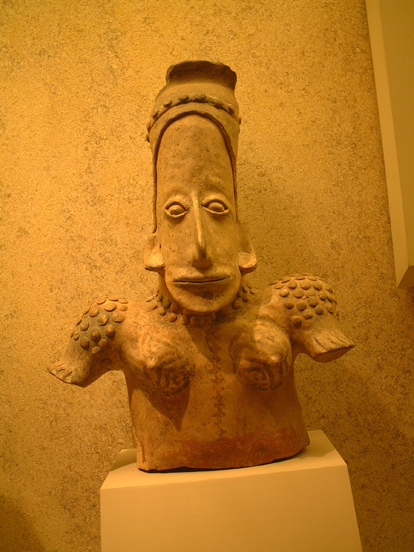 South american worrier figure 300bc