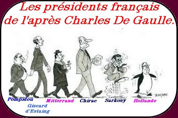 nos présidents