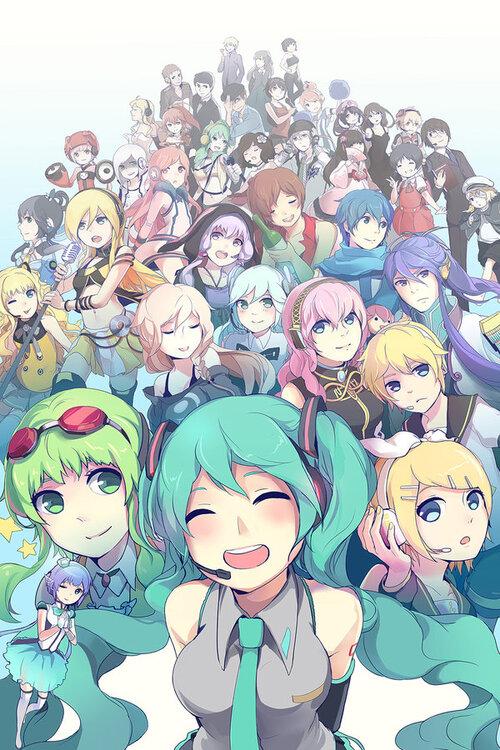 Vocaloids divers