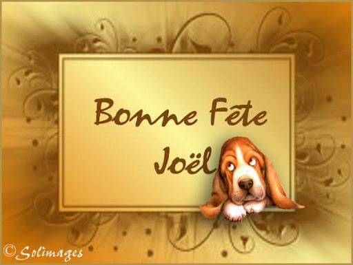 Cartes virtuelles solimages Bonne fête Joël