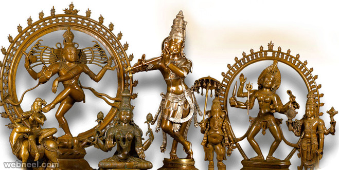 bronze sculpture india