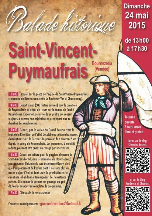Rappel : journée à Saint-Vincent-Puymaufrais, le 24 mai....