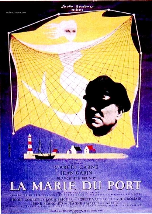 LA MARIE DU PORT - BOX OFFICE JEAN GABIN 1950