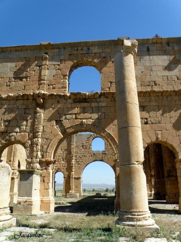 Lambèse en Algèrie