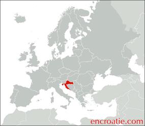 """Résultat de recherche d'images pour """"carte croatie europe"""""""