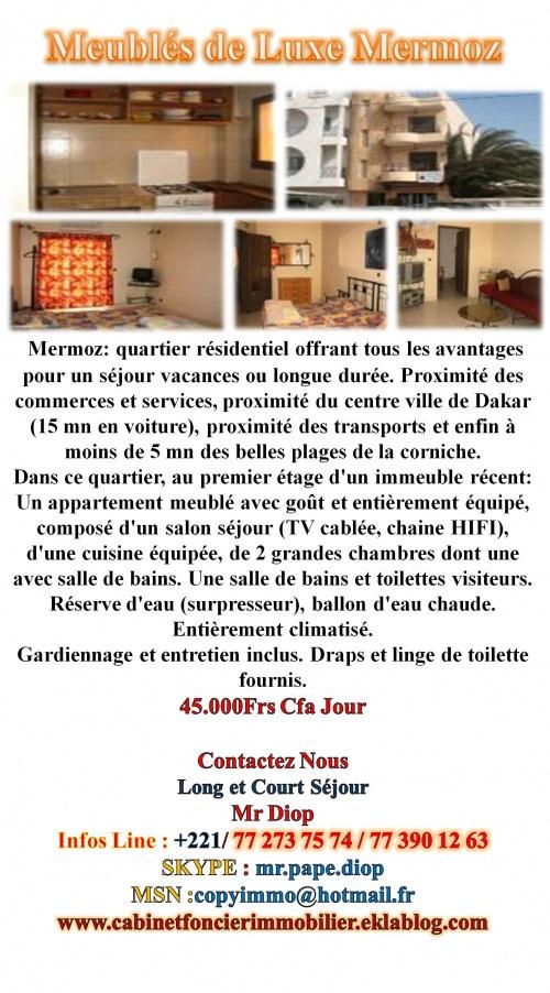Meublé Dakar Centre