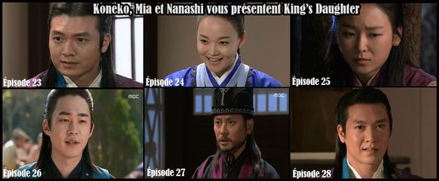 King's daughter épisodes 23 à 28 vostfr