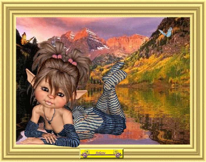 Mystérieuse Elfe