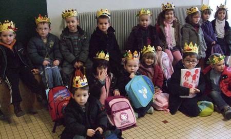 les rois et les reines en maternelle