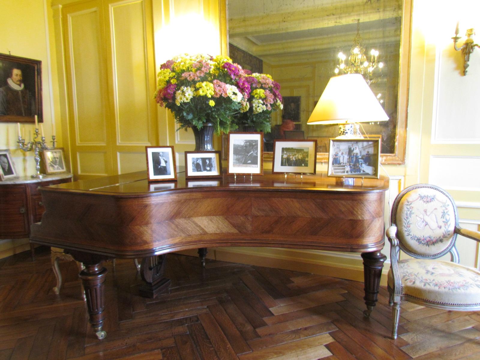 L 39 interieur du chateau de villandry 37510 indre et for Le salon chatou