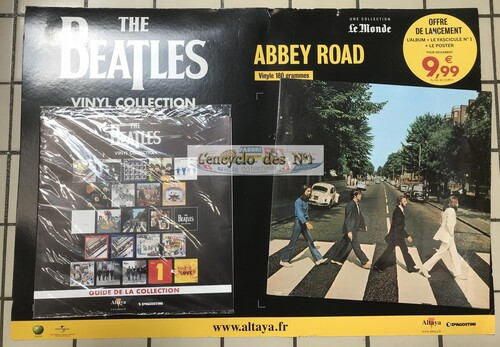 N° 1 The Beatles vinyl collection - Lancement