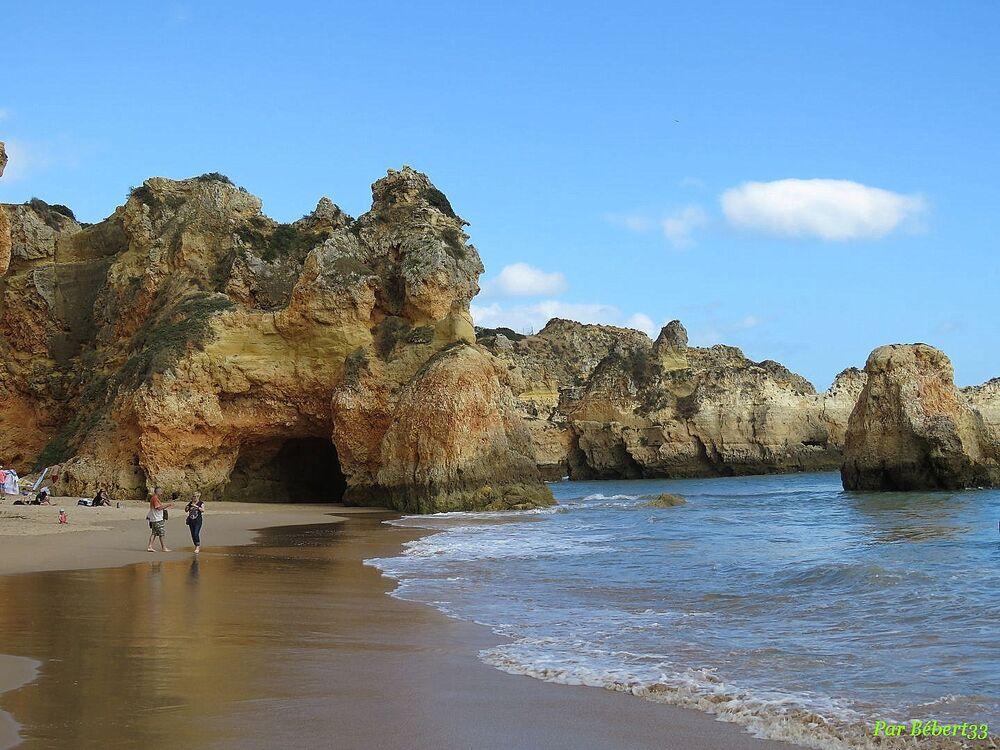 Praia d'Alvor au Portugal