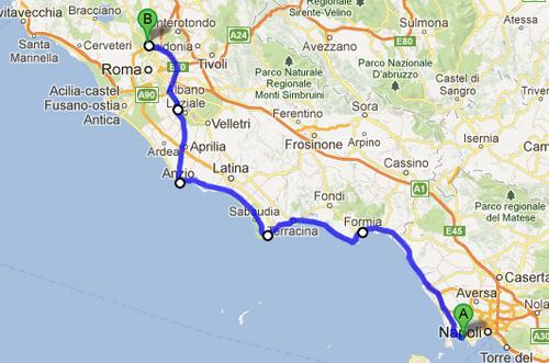 Naples et les environs
