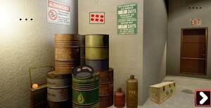 Jouer à Genie Oil depository room escape