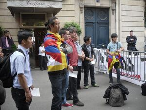 lhakar paris 99year independence Tibet 4