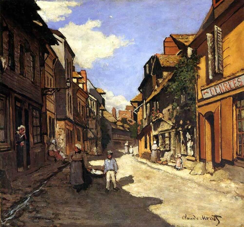 Monet / Oscar , le caricaturiste !