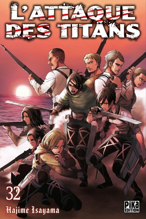L'attaque des titans - Tome 32 - Hajime Isayama