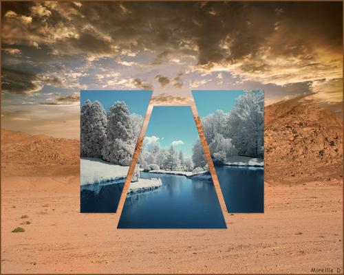 Création d'un Polyscape avec Photoshop