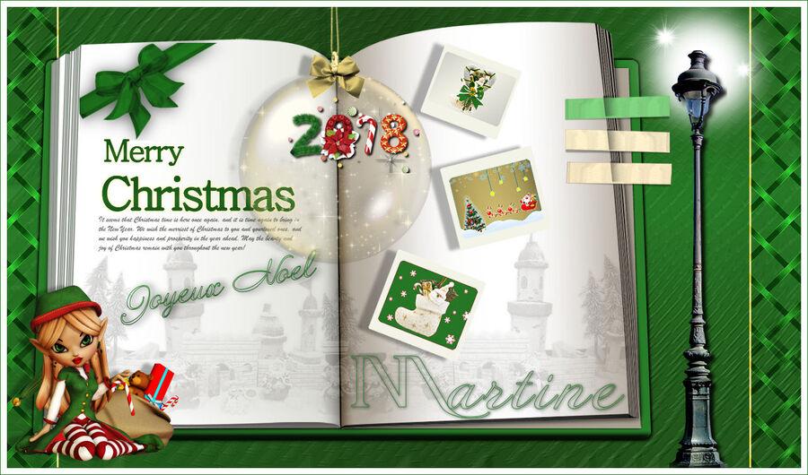 MERRY CHRISTMAS JOYEUX NOEL 2018