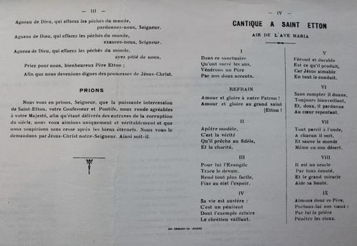 Litanies de saint Etton