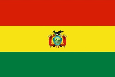 Drapeau officiel de La Bolivie