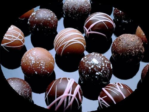 tubes chocolats / bonbons