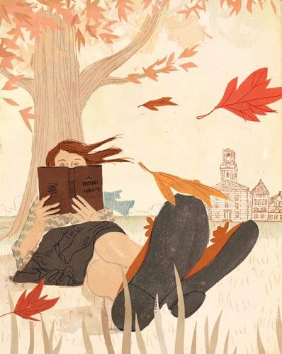 Penelope Dullaghan - nice way to spend a Fall day...: