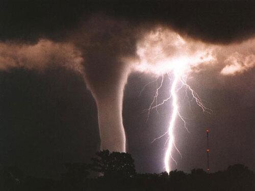 En pleine tempête ...