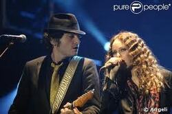 Mathieu Chedid et Vanessa Paradis