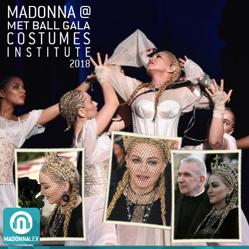 Madonna au Costume Institute MET Gala a New York