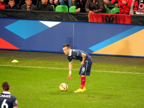 France vs Albanie : Valbuena