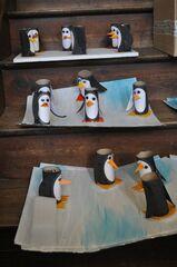 Arts visuels: des pingouins en volume