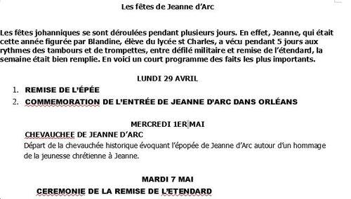 La Jeanne d'Arc 2019 est du lycée St Charles!