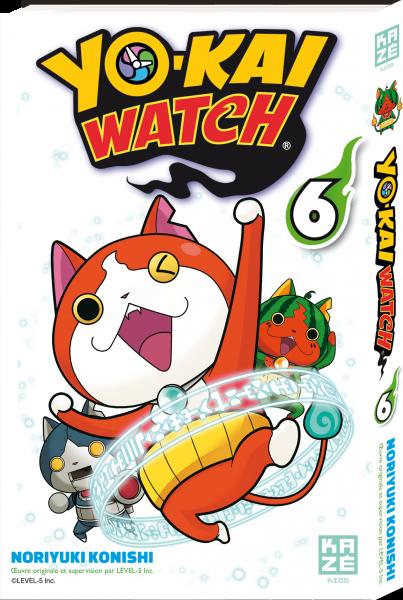 Yo-kai watch - Tome 06 - Noriyuki Konishi