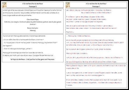 A la manière de Lectorino: A LA RECHERCHE DU BONHEUR